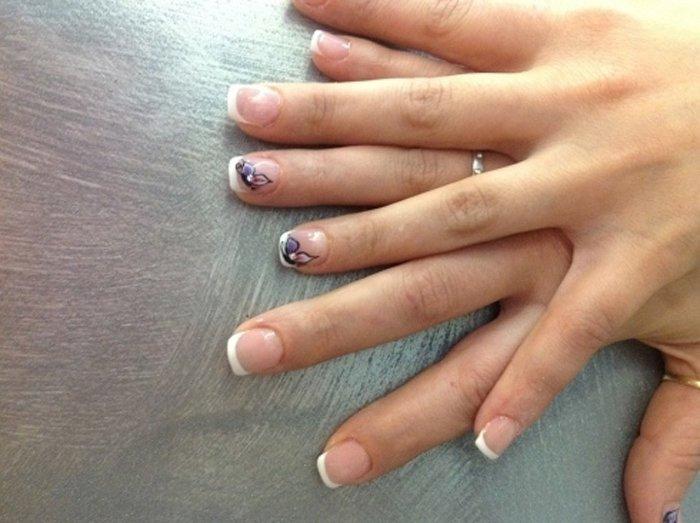 unghie dopo manicure