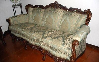 Rivestimento divani antichi