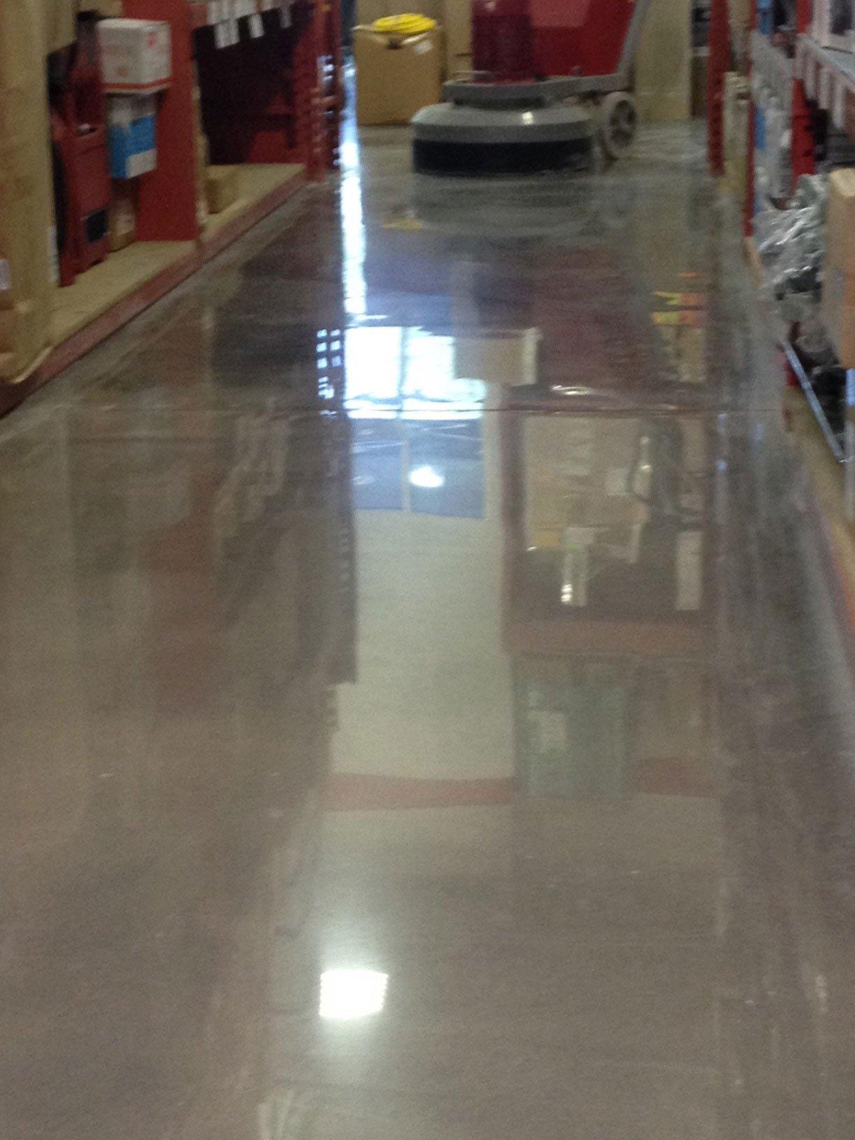 Polished Concrete Floors in San Antonio