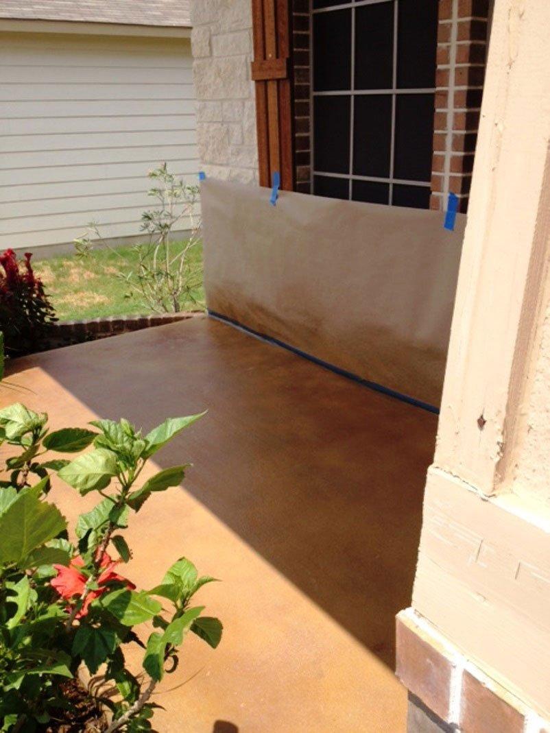Decorative Concrete Patio in San Antonio, TX