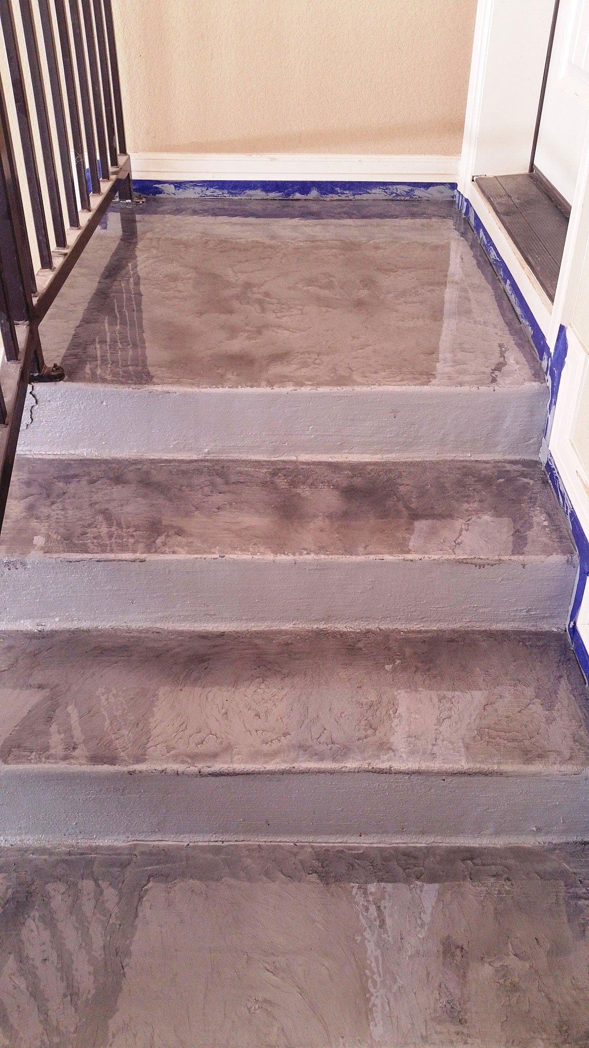 Epoxy Stairs in Austin & San Antonio, TX