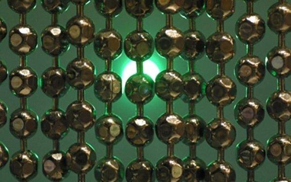 tende con sfere metallo