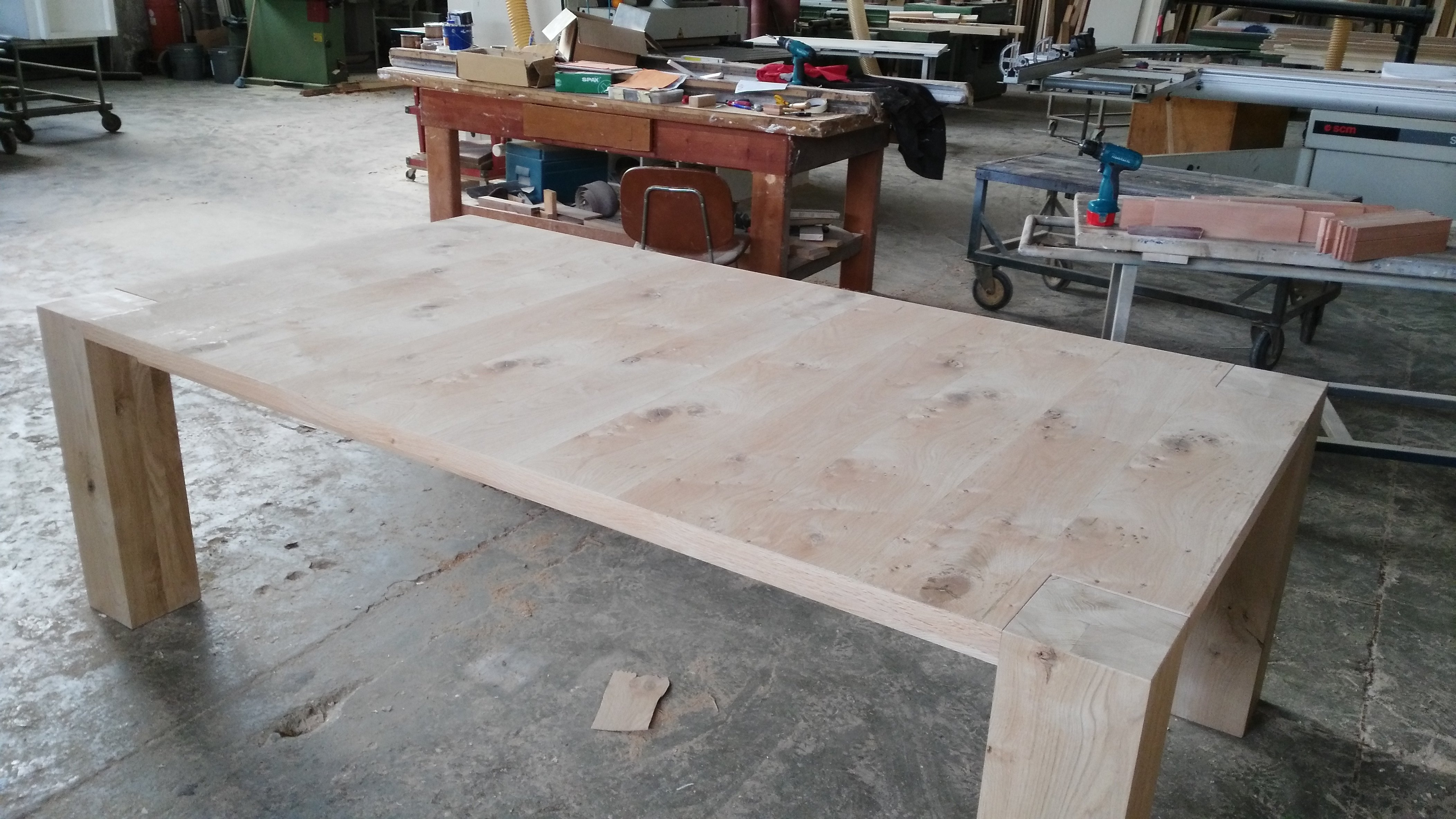 Tavolo di legno a Scorzè