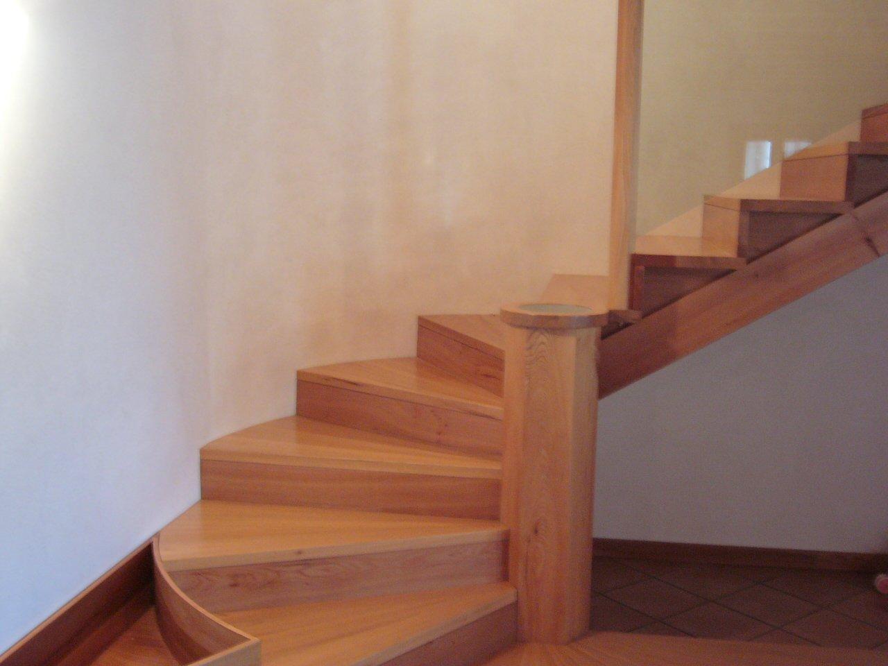 Scale in legno a Scorzè