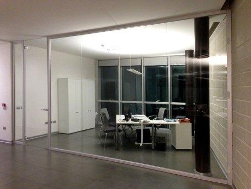 Arredamenti in vetro per ufficio
