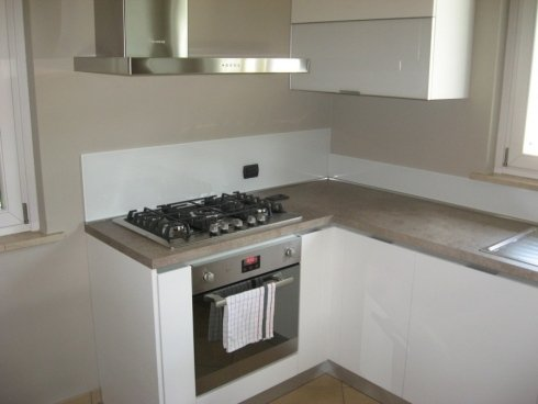 angolo cottura di una cucina