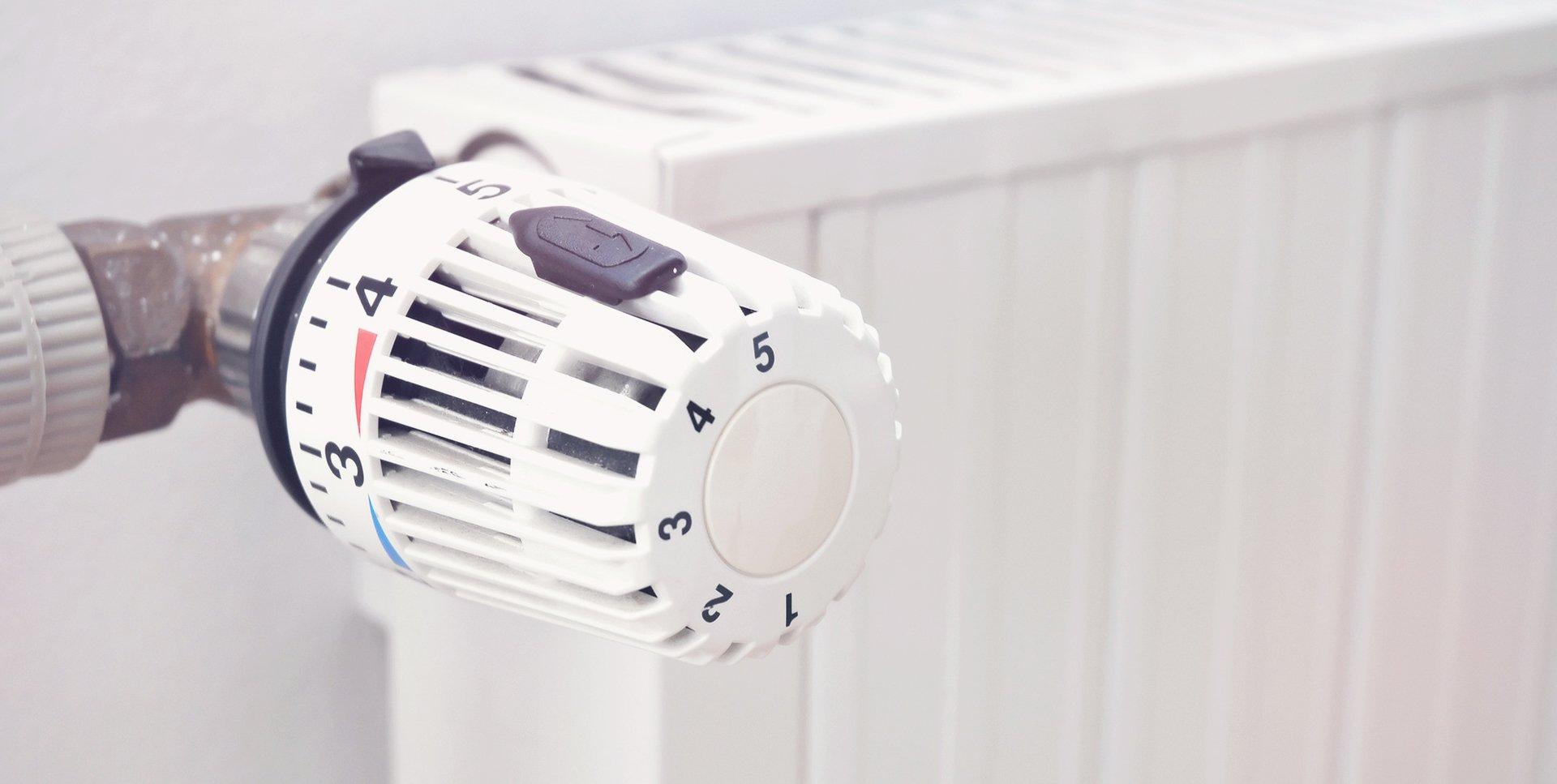 central heating system nob