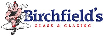 Birch field's glass & glazing logo