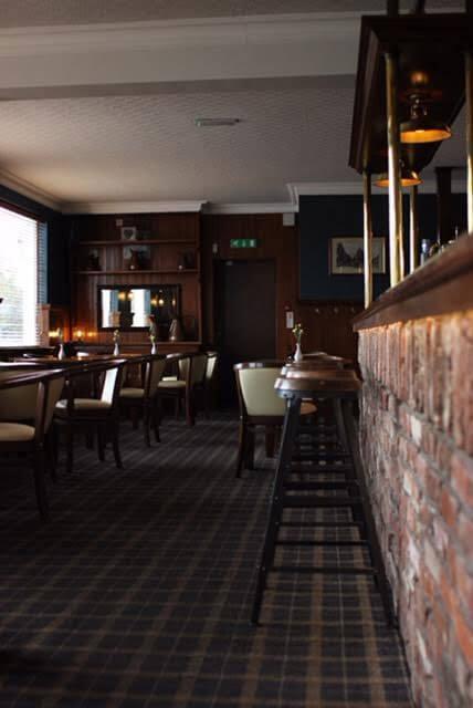 artistic photo of a bar