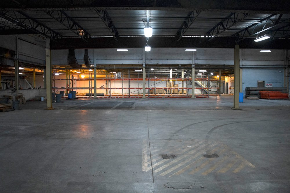 Duluth Warehouse Interior