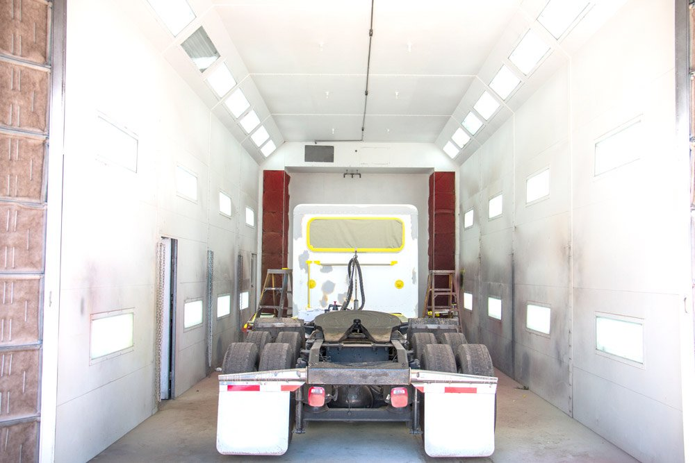 Collision Center Paint Booth 1