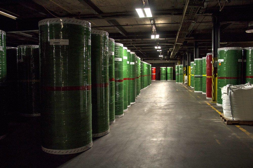Superior Warehouse Paper Rolls