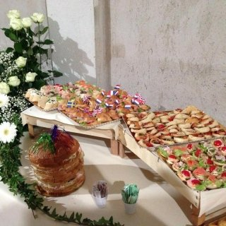Organizzazione di rinfreschi dolci e salati