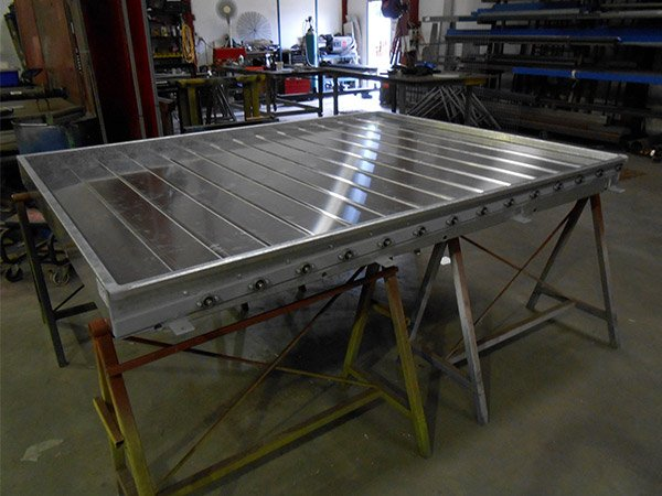 concept fabrication louvered panels
