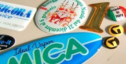 etichette adesive, etichette calamitate, etichette resinate