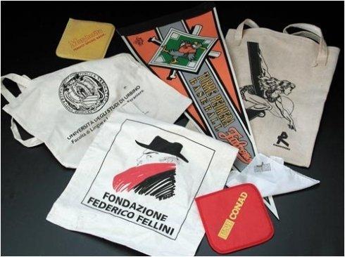 stampa borse, stampa presine, stampa su capi d'abbigliamento