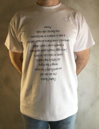 maglietta Padre Nostro
