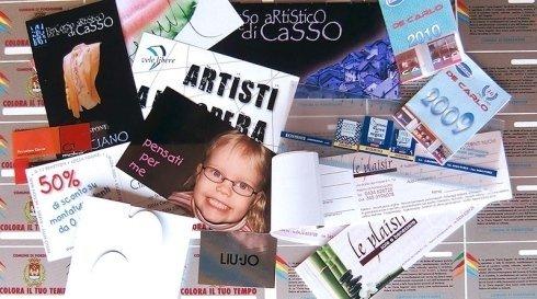 cartoline, assegni promozionali per negozi e aziende, realizzazione volantini