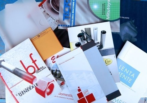 impaginazione cataloghi, stampa riviste