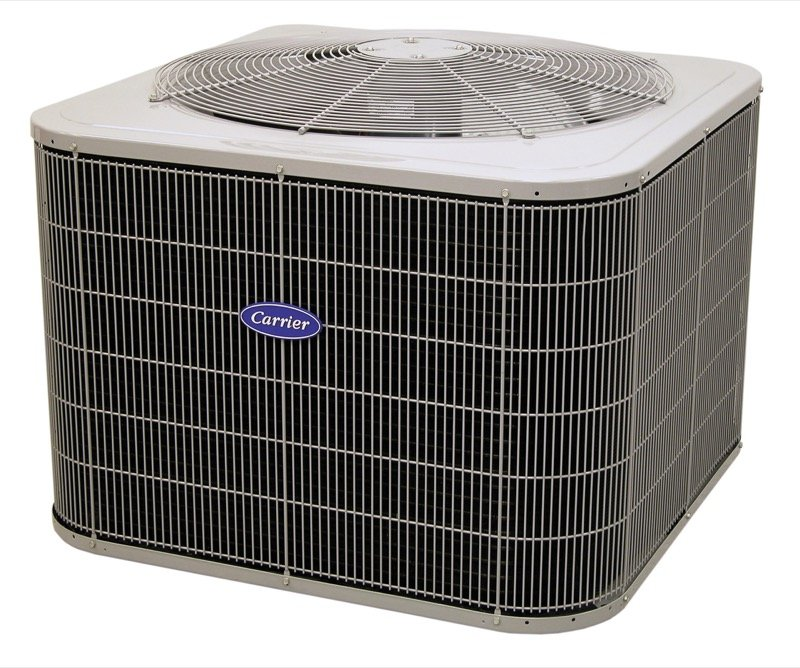 a Carrier air conditioner