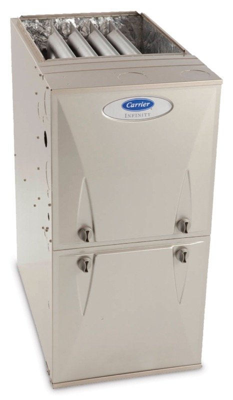 a Carrier gas furnace