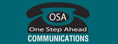 one step ahead communications logo