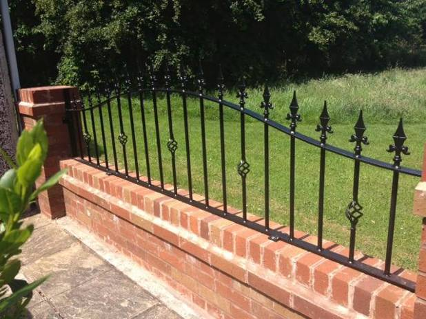Railings at a home