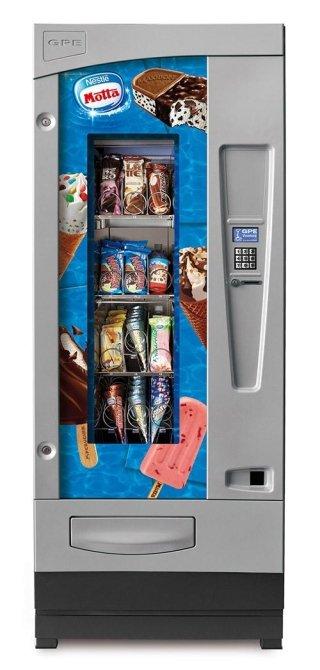 Distributori automatici di gelati