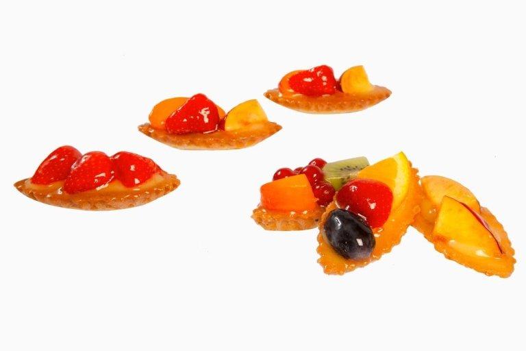 Pasticcini frutta barchetta