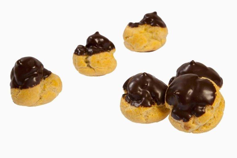 Pasticcini bignè cioccolato