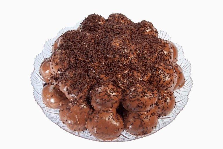 Profiterol cioccolato