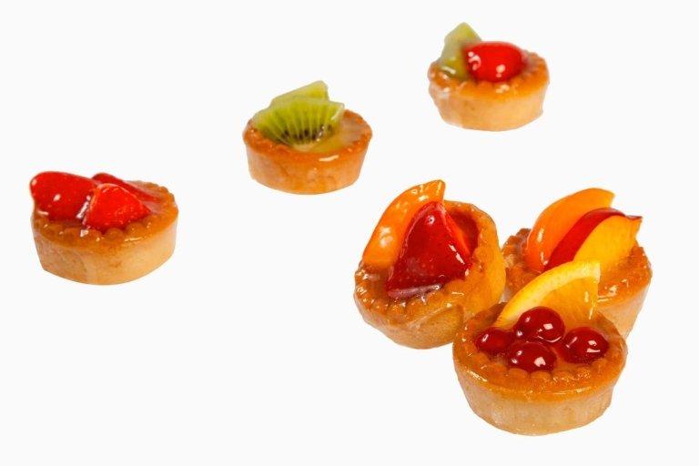Pasticcini frutta tonda