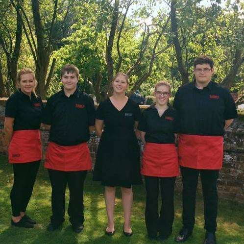 catering team staff
