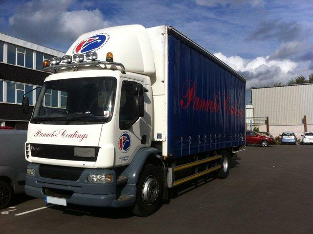 Panache Coatings truck