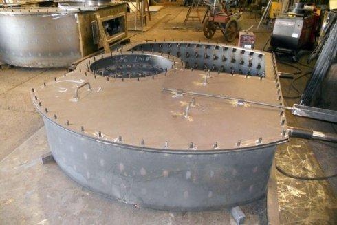 piegatura strutture in acciaio inox