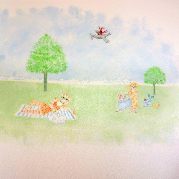 Kinderzahnarzt Friedrichshafen (FN): Wandmalerei 8
