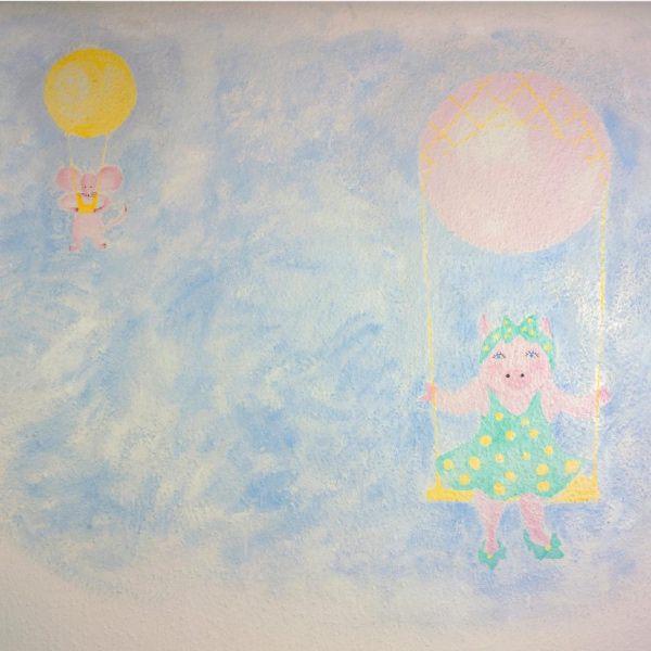 Kinderzahnarzt Friedrichshafen (FN): Wandmalerei 2
