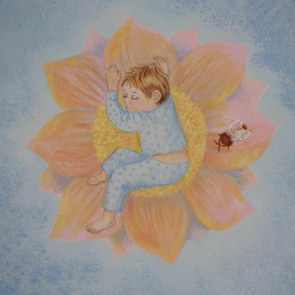 Kinderzahnarzt Friedrichshafen (FN): Wandmalerei 15