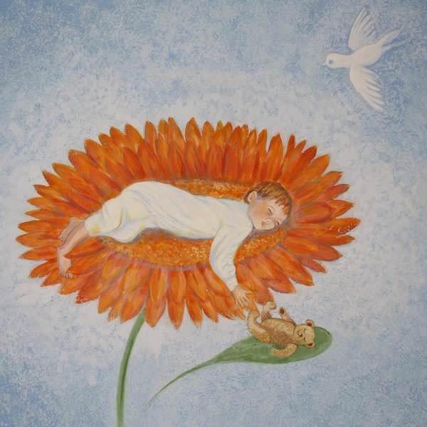 Kinderzahnarzt Friedrichshafen (FN): Wandmalerei 14