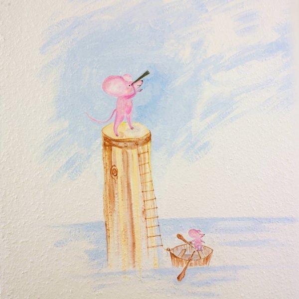 Kinderzahnarzt Friedrichshafen (FN): Wandmalerei 5