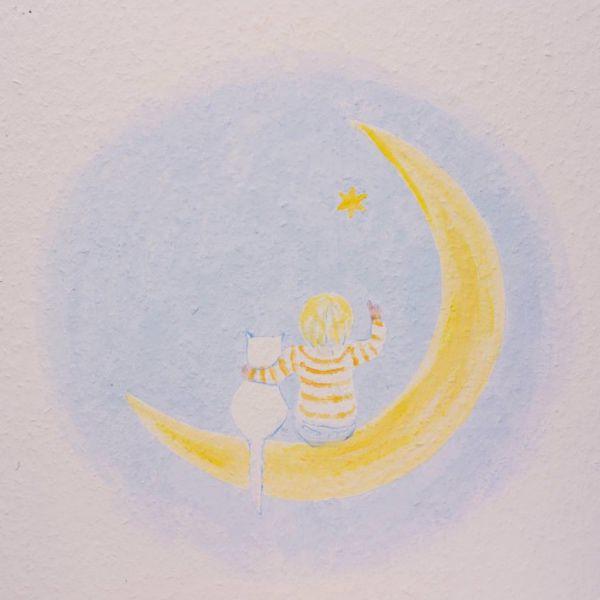 Kinderzahnarzt Friedrichshafen (FN): Wandmalerei 4