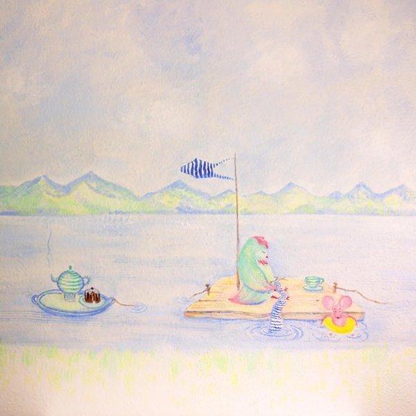 Kinderzahnarzt Friedrichshafen (FN): Wandmalerei 3