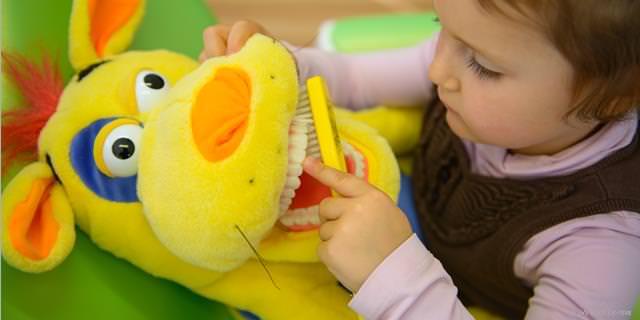 Prophylaxe für gesunde Kinderzähne