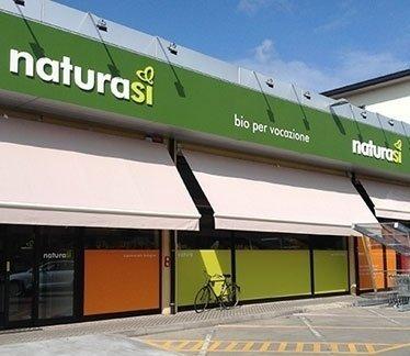 supermercato di alimenti biologici