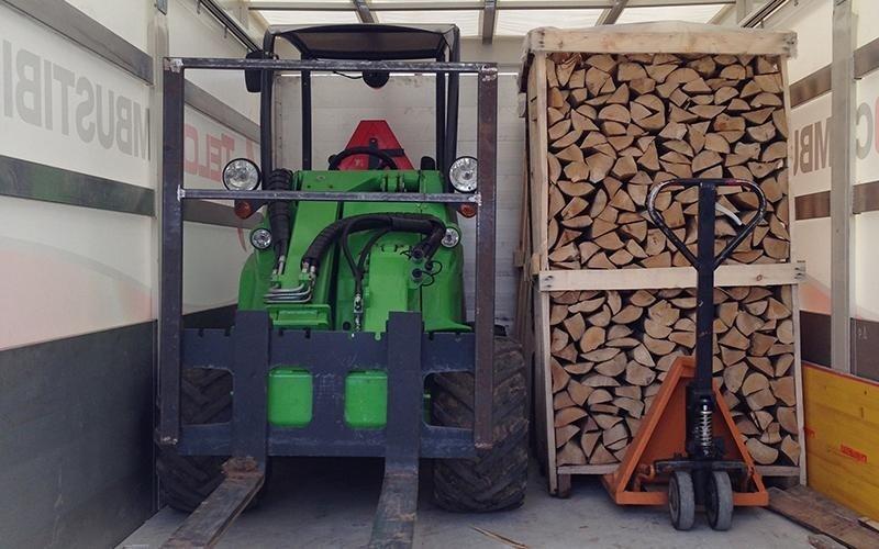 Avant e legna secca