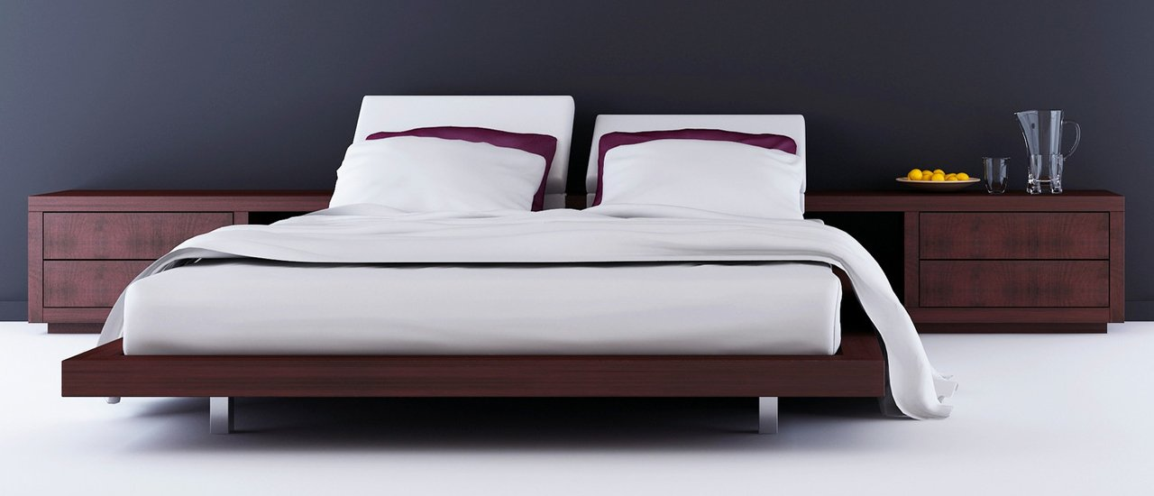 white bed with pupal lining