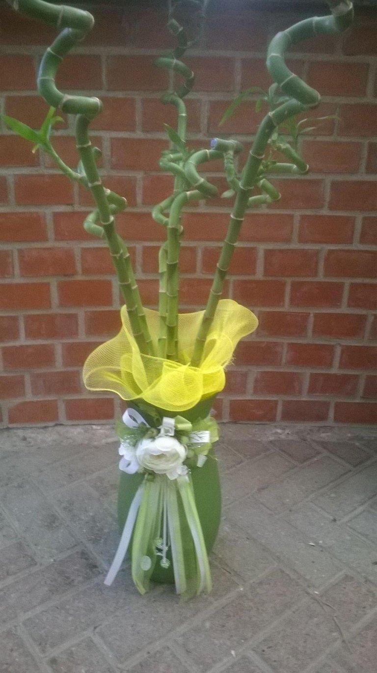 mazzo di fiori creativo