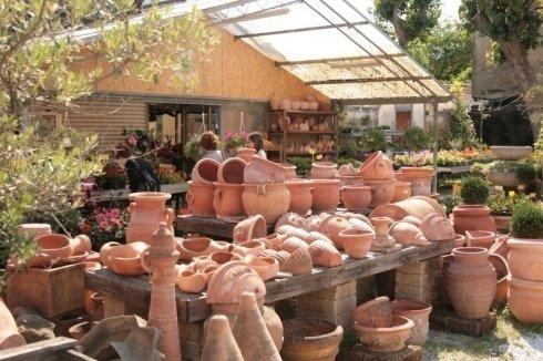 magazzino vasi