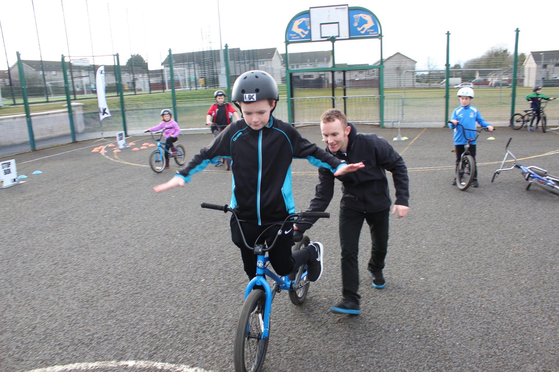 BMX coaching Belfast