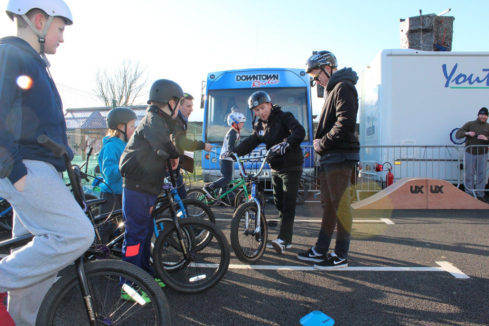BMX Coaching newtownabbey - bmx coaching class